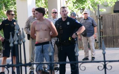 North area shooting subjects detained on Governor's Mansion property