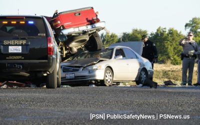 South Area Sheriff's pursuit ends in MCI (Multi Casualty Incident): Florin Road at Power Inn Road
