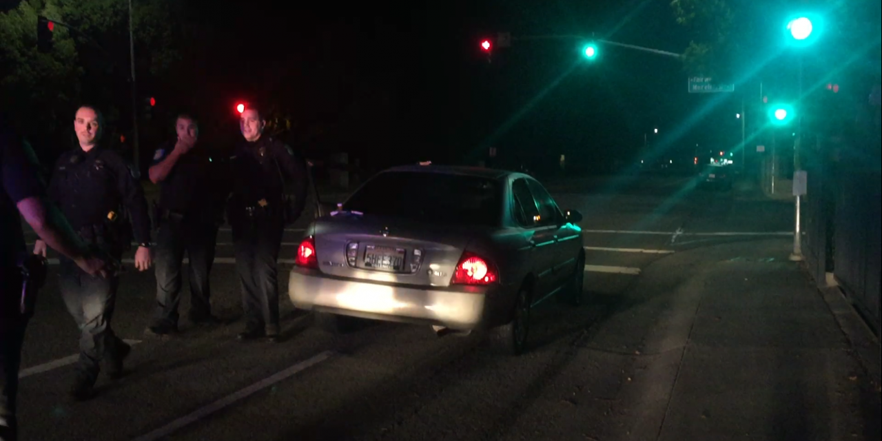 Old Sacramento hit-and-run driver leads police on pursuit