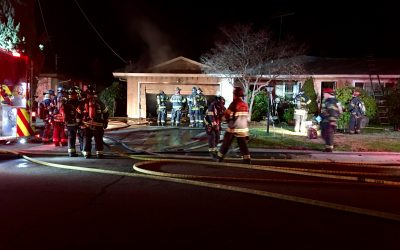 Three adults, three dogs escape house fire in South Sacramento