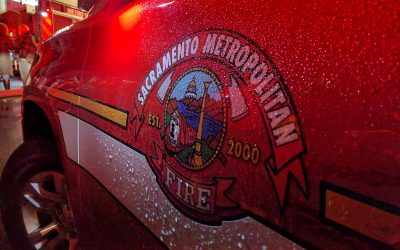 Apartment Catches Fire on El Camino Avenue