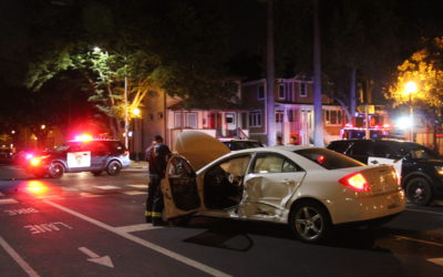 Police-Involved Crash Happens While Responding to Stabbing