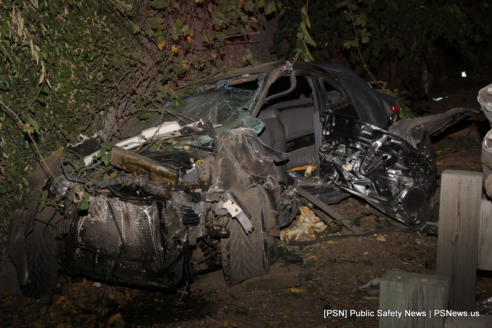 Car Crashes Into Guardrail On Highway 99 Public Safety News