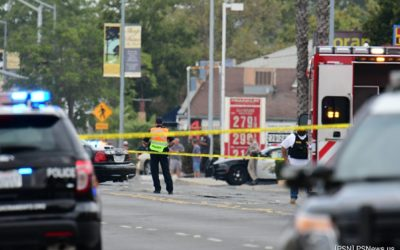 Homicide Suspect Dead After Shooting Two Police Officers