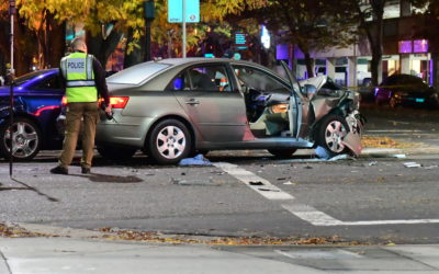 Fatal Crash Shuts Down Downtown Intersection