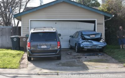 House Damaged After Hit-and-Run Collision in Elk Grove
