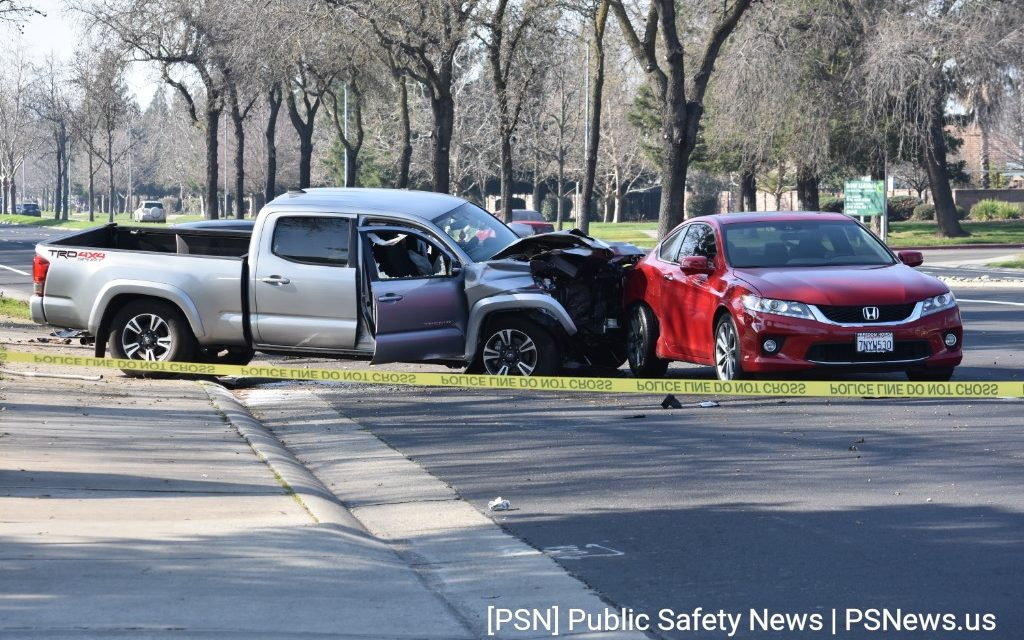 Victim Suffers Life-Threatening Injuries After Crash in Elk Grove