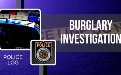 POLICE LOG: Burglary Investigation, Natomas