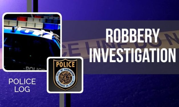 POLICE LOG: Robbery Investigation, Midtown