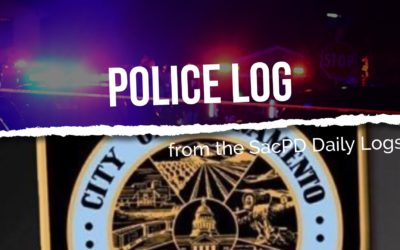 POLICE LOG: Robbery Investigation, North Highlands, October 21, 2018