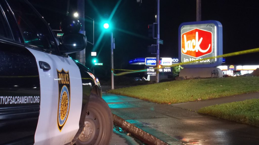 VIDEO: Shooting Investigation, Jack in the Box, Power Inn Rd. at Elder Creeck