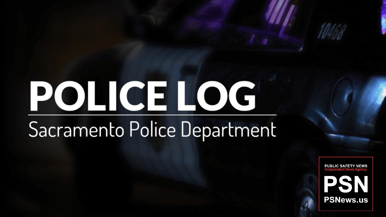 POLICE LOG: Hazardous Material, Del Paso Heights