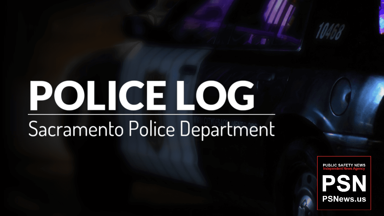 POLICE LOG: Firearm and Auto Theft Arrest, South Sacramento