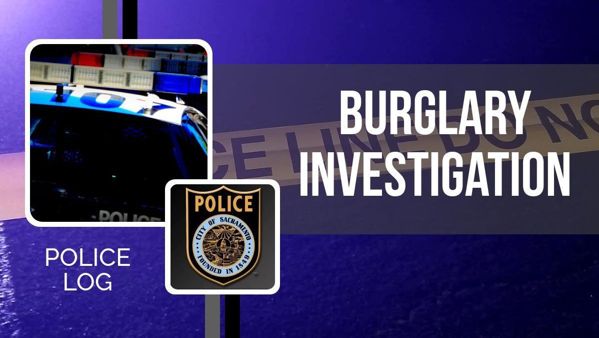 POLICE LOG: Burglary, Valley Hi / North Laguna, January 3, 2019