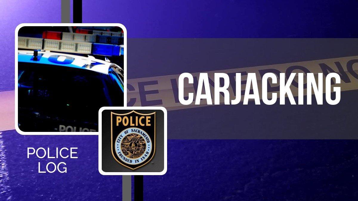 POLICE LOG: Carjacking, Northgate, January 13, 2019