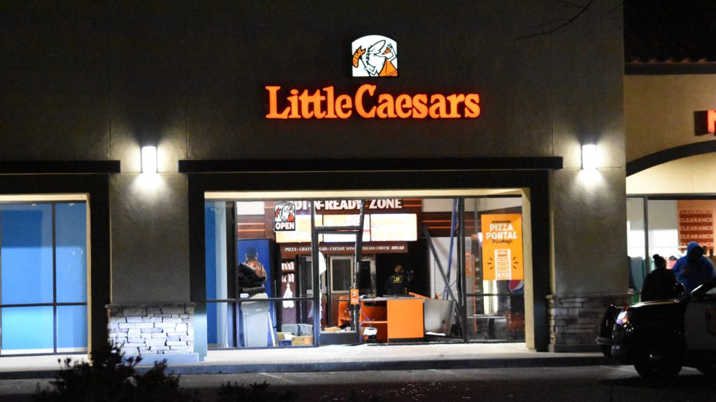 Van Used to Burglarize Little Ceasars