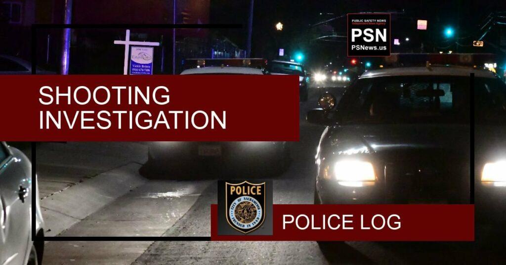 Police Log - Public Safety News